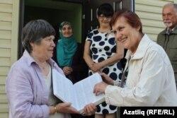 Динә-Шабакаева-Һаральдсон (с) һәм Диләрә Позднякова