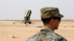 سامانه دفاع موشکی پاتریوت آمریکا در عربستان سعودی.