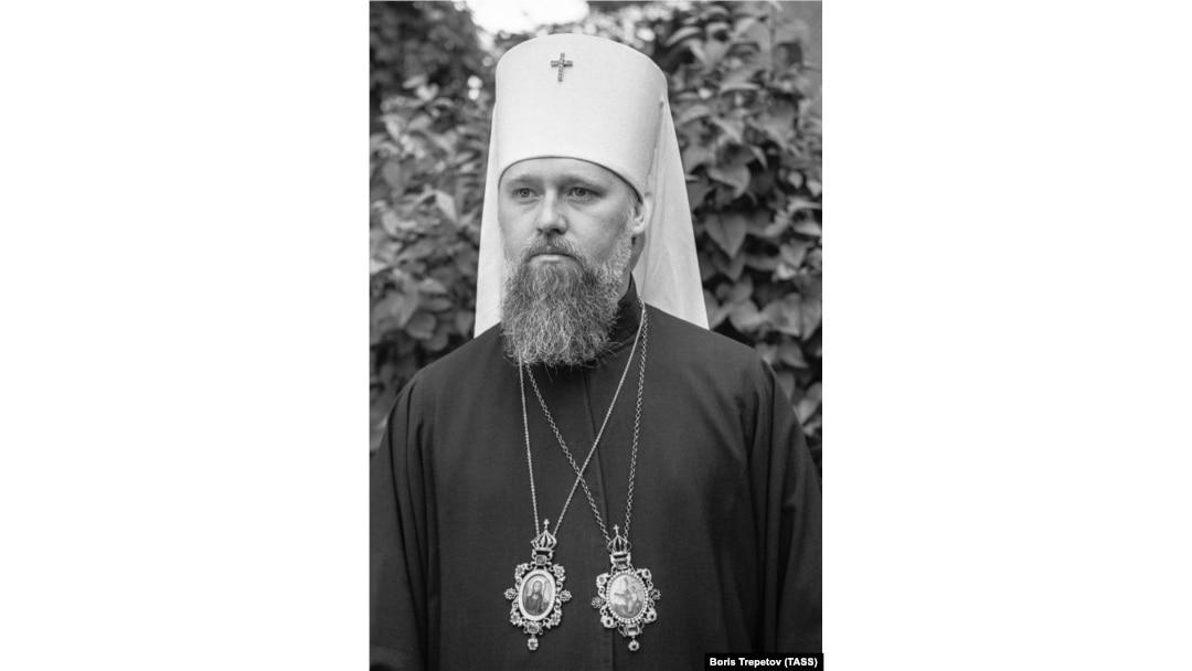 Тодішній екзарх України, митрополит Київський і Галицький Філарет. Київ, 1 травня 1969 року