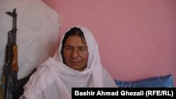 Bibi Ayesha Habibi, also known as Commander Kaftar or The Dove, has spent decades fighting the Taliban.
