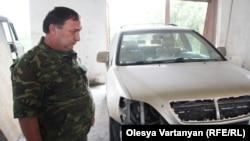 Если бы не джип, Беслан Киртадзе не отделался бы лишь осколочным ранением в плечо