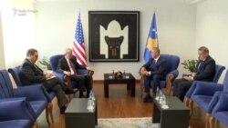 Haradinaj takimin e parë si kryeministër me Delawie
