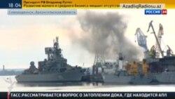 Rusiyanın atom sualtı gəmisində yanğın olub