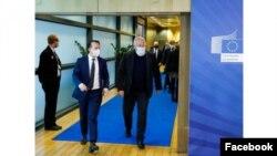 Premierul Florin Cîțu s-a întâlnit cu Frans Timmermans