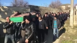 Victims Of Oil Platform Disaster Buried in Azerbaijan
