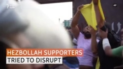 Hezbollah Supporters Try To Disrupt Anti-government Protests In Lebanon