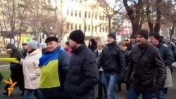 Євромайдан у Дніпропетровську через ярмарок і заборону суду перенесли в інше місце