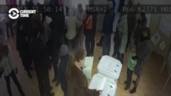 Ballot-Stuffing Caught On Camera At Russian Polls