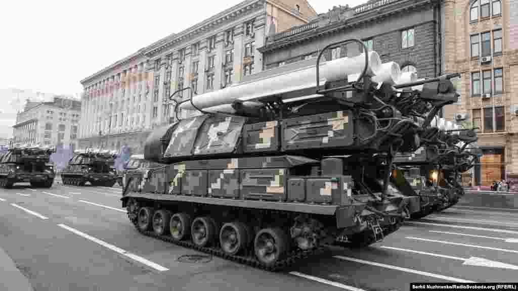 Самохідні вогневі установки «БУК-М1»