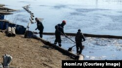 Нефтеразлив, Коми, Россия