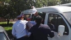 Дар Алмаато 9 май чандин нафар боздошт шуд
