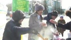 Азия: протест против Нурсултана