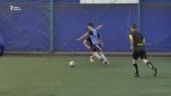 Футбольный матч среди «базарных команд»
