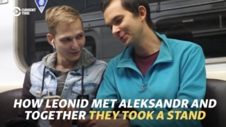 How Leonid Met Aleksandr And Together They Took A Stand