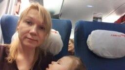 Наталья Дмитриева с дочерью Варварой