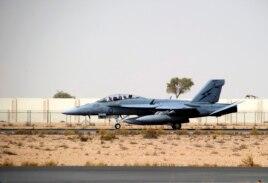 اف-۱۸ نیروی هوایی استرالیا در دوبی