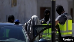 Spanish police have arrested scores of suspected Islamist extremists over the past two years (file photo).