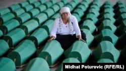 Potočari: Pripreme za ukop žrtava genocida
