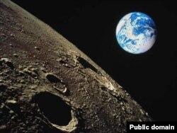 Луна и Земля.