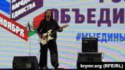 Игорь Тальков-младший в Симферополе, 4 ноября 2017 года