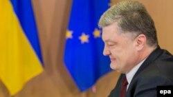 Петр Порошенко на саммите Украина-ЕС, 24 ноября 2016 года