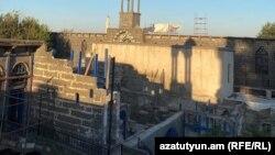 Թուրքիա - Դիարբեքիրի Սուրբ Կիրակոս եկեղեցում վերակառուցման աշխատանքներ են, սեպտեմբեր, 2020թ.
