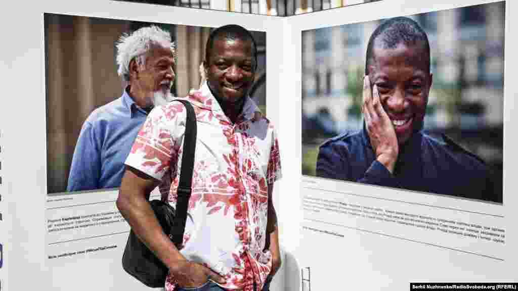 Ричард –беженец из Демократической Республики Конго, оставил дом и теперь ищет защиты в Украине.