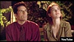 """Ben Stillerin ilk uğurunu qazandığı """"Reallıq acıdır"""" filmindən bir kadr, 1994-cü il."""