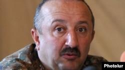 Министр обороны Нагорного Карабаха Мовсес Акопян.