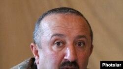 Nagorno-Karabakh -- Lieutenant General Movses Hakobian, commander of the Karabakh Armenian army.