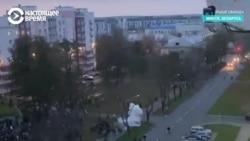 Зӯроварӣ бар эътирозгарон дар Минск