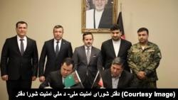 افغانستان و ترکمنستان پلان امنیتی پروژهتاپی را امضا کردند.
