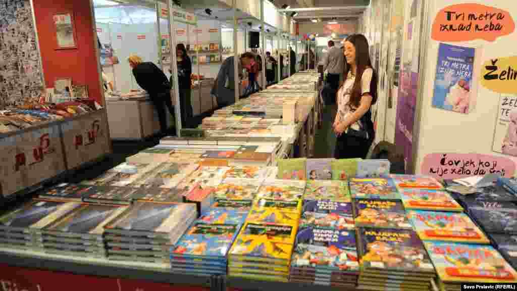 Montenegro - Book Fair, Podgorica, 8May2014.
