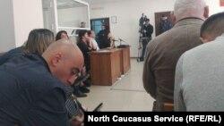 Судебное заседание по Цкаеву