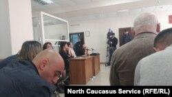 Усі підсудні заявляли про свою невинність протягом усього судового процесу (фото з одного із засідань суду)