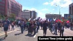 Акція у Москві 13 травня 2018 року «За вільний інтернет».