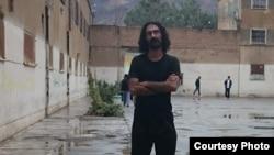 تصویری از سعید شیرزاد در زندان