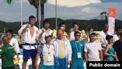 Казахстанская сборная по самбо. Пхукет, 13 ноября 2014 года.