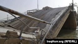 Rawdha Bridge, a key structure that connects Anbar and Karbala provinces, has been blown up.