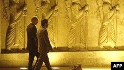 Ирандын президенти Махмуд Ахмединежад жана Орусиянын лидери Владимир Путин, 16-октябрь, 2007-жыл