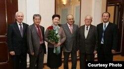 Кытай татарлары М.Шәймиев белән очрашты