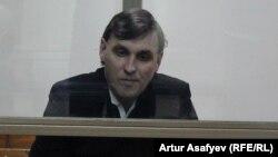 Преподаватель истории Алексей Чирний в зале суда. Архивное фото