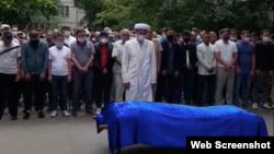 Прощание в Болатом Атабаевым в Алматы