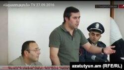 Գևորգ Սաֆարյանը դատարանի դահլիճում, արխիվ