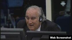 Žoze Kutiljero (Jose Cutileiro) svjedoči na suđenju Radovanu Karadžiću, 2013.