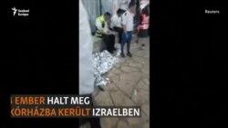 Tömegkatasztrófa egy izraeli vallási ünnepen