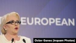 Premierul Viorica Dăncilă ar fi, potrivit unor zvonuri, printre propunerile de comisar european din partea României
