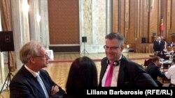 Dirk Scheubel a asistat la lucrările Parlamentului de la 30 mai