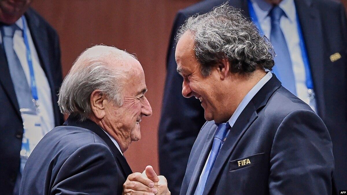 ФИФА подала иск к Зеппа Блаттера и Мишеля Платини