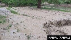 جاری شدن سیلابها در بدخشان